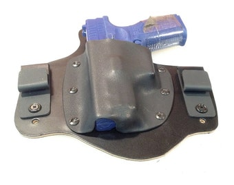 IWB Hybrid Leather and Kydex Holster for Spingfield Armory XDm 40