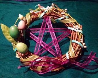 Ostara/ Spring Equinox Wreath