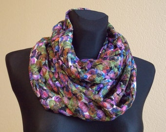 "Infinity scarf  ""RENESMEE"" - Circle scarf for women - circle scarves"