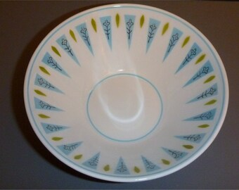 """Mikasa Cera-Stone Blue Point 5 1/4"""" cereal dessert or berry bowl"""