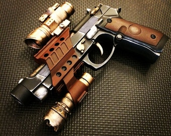 Steampunk Cosplay Space Blaster Gun