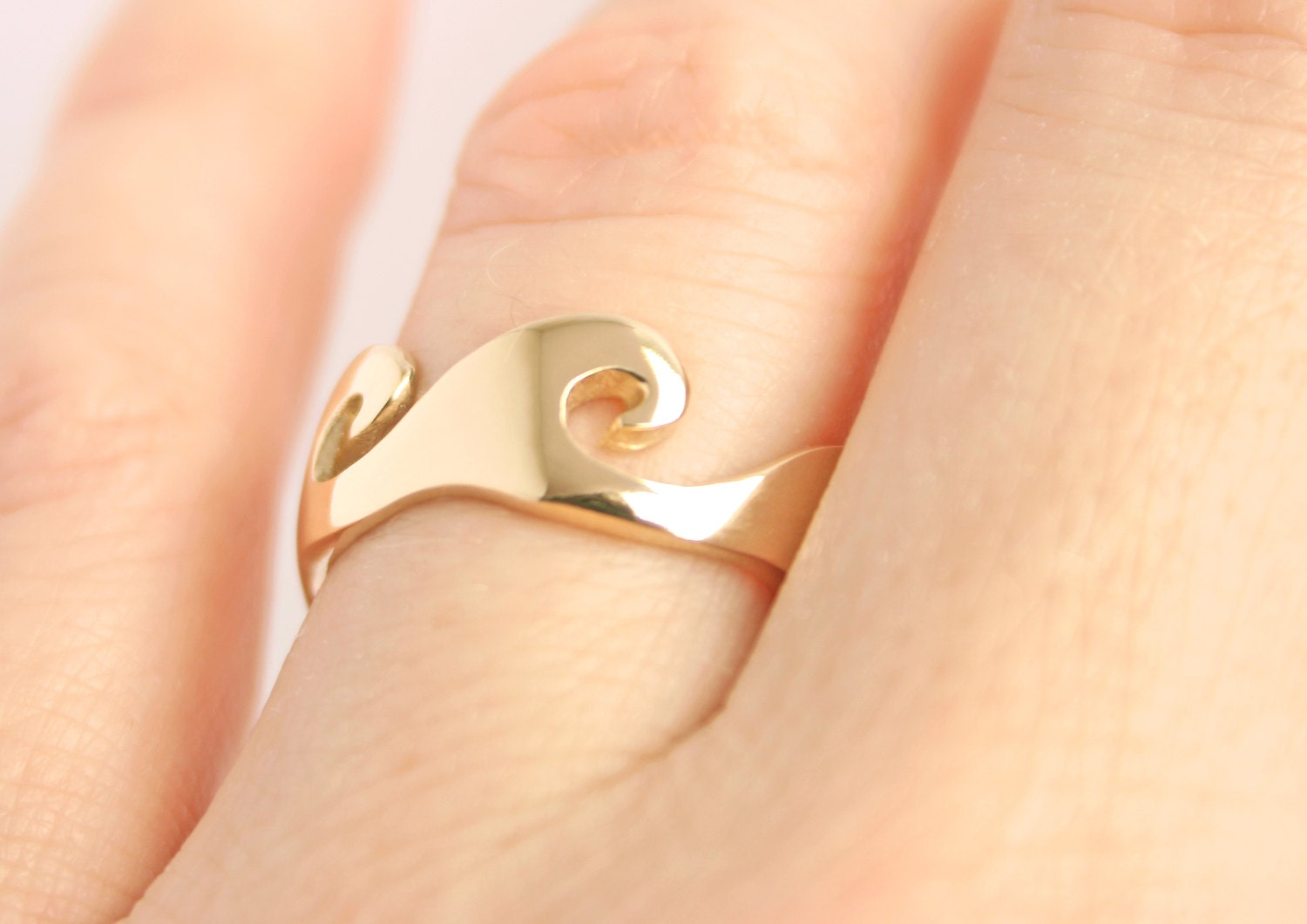 wave wedding band alternative wedding bands Wave Ring Ocean Wave Ring Alternative Wedding Ring Alternative Wedding Band Wave Trending Jewelry Gold Wave Ring His Hers unique Wedding