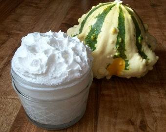 Tallow & Cocoa Butter Only Cream Dermatitis Whipped Soothe Dry Skin Baby 8 oz Unscented Organic Face Body Made to Order Honey, EOs Optional