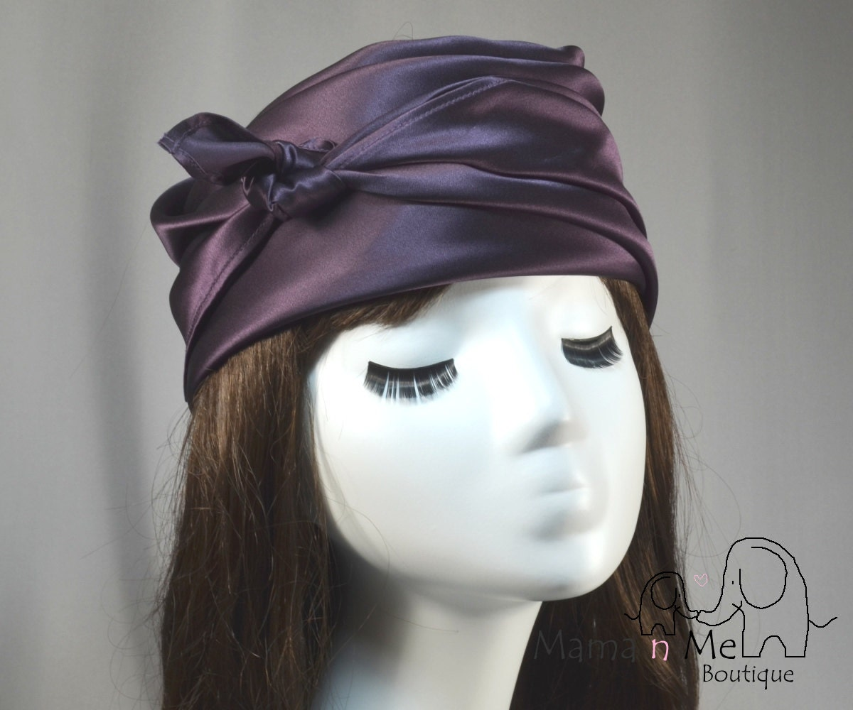silk bandana hair scarf wrap mulberry by mamanmeboutique