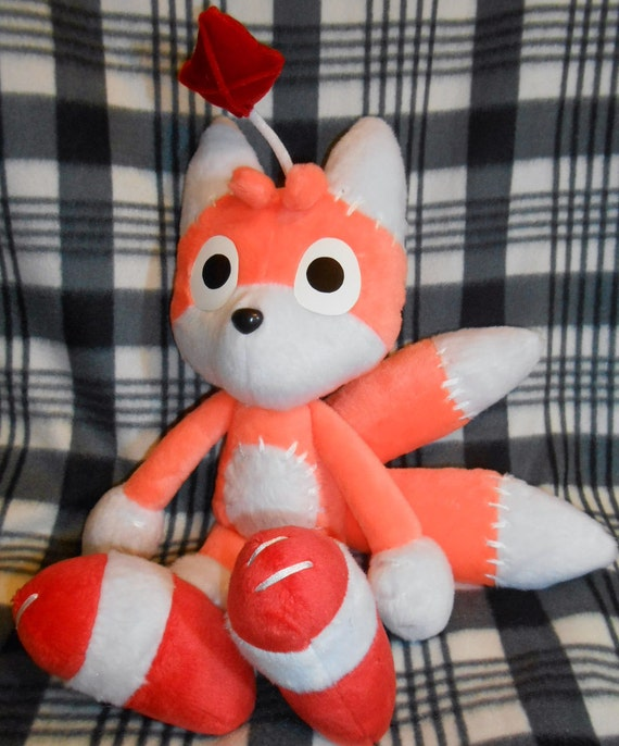 Sonic Adventure Tails Tails Doll Plushie Sonic x