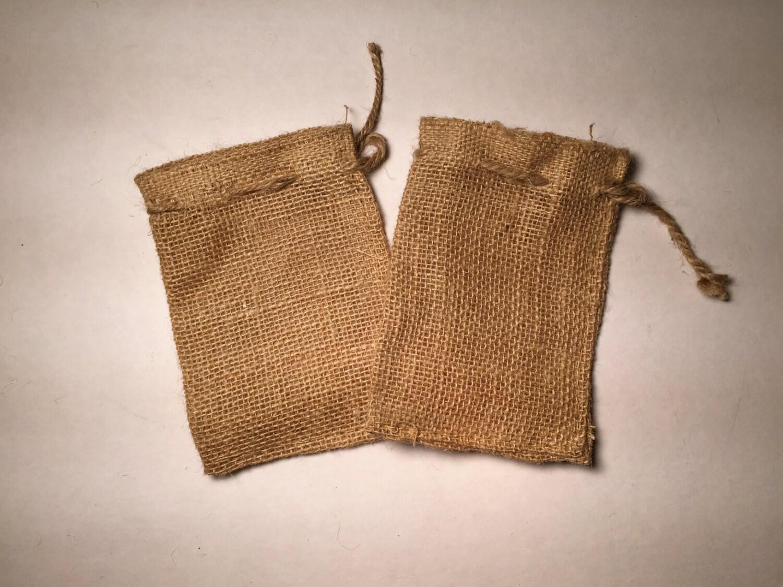 4x6 burlap bags with drawstring set of 25 wedding favor for Decorative burlap bags