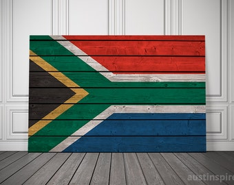 South Africa Canvas Flag (w/ Free Shipping!)