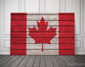 Canada Flag (Canvas)