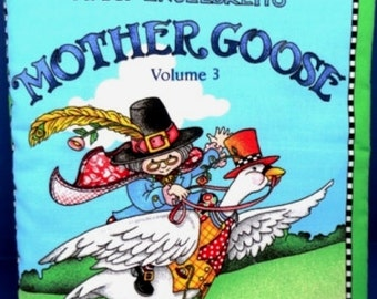 Mother Goose Volume 3 children's cloth book