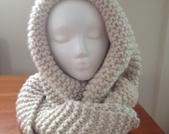 Hooded Scarf convertible multiway infinity scarf