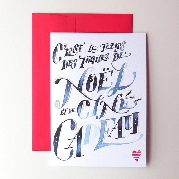 carte-de-Noel-Amour-et-joie-de-vivre-Quebec-Etsy
