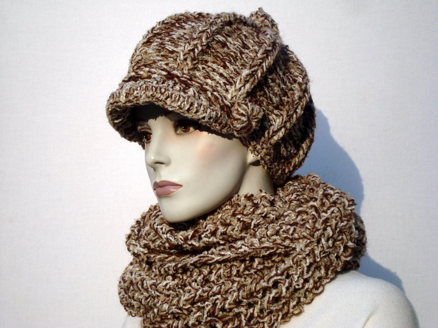 newsboy hat and scarf hat and scarf set scarf
