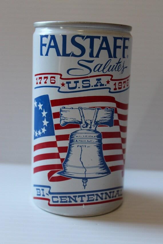 FALSTAFF BEER CAN Vintage Salutes Bicentennial can 1776-1976
