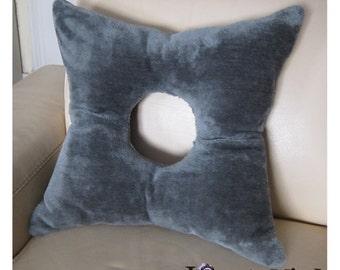 Shuriken cushion. Ninja cushion.