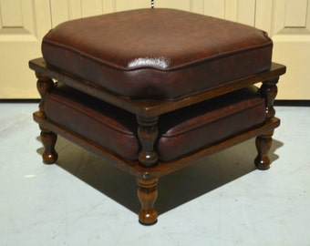Stacking Footstools Ethan Allen Stools Mid Century Mod