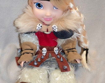How to Train Your Dragon Astrid inspired doll