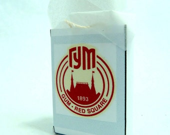 Gum (Moscow) Dollhouse Shopping Bag 1/12 scale