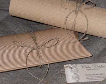 Rustic jute string gift tag string vintage jute twine thread for crafts