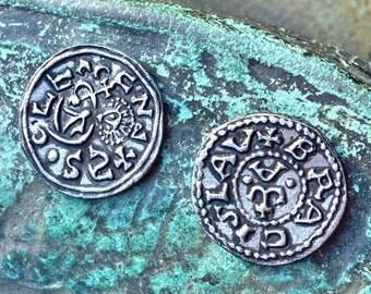 DENARIUS, Bretislav I. Bohemia, XI. century coin replica Medieval Middle Ages