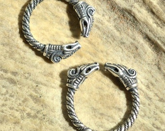 DREKI Sterling Silver Viking RING Jewelry Jewellery Vikings Pagan Art