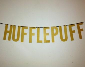 Harry Potter   Hufflepuff Handmade Banner
