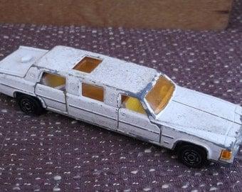 toy car majorette White Limousine
