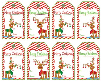 Satisfactory image throughout merry christmas tags printable