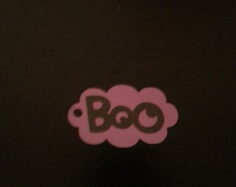 """10 - """"Boo"""" Halloween Party Favor Tags"""