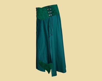 Long Battle Skirt