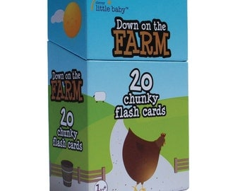 Down on the Farm Flash Cards