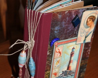 Altered Book Vacation journal