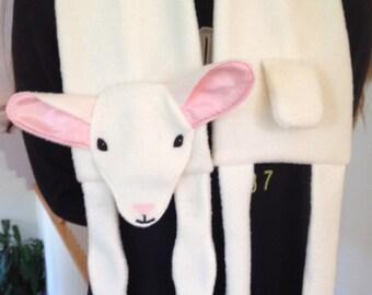 Little Lamb Scarf PDF  Sewing Pattern, sheep sewing pattern