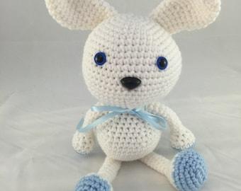 Wasabi the Bunny - Crochet Amigurumi Bunny