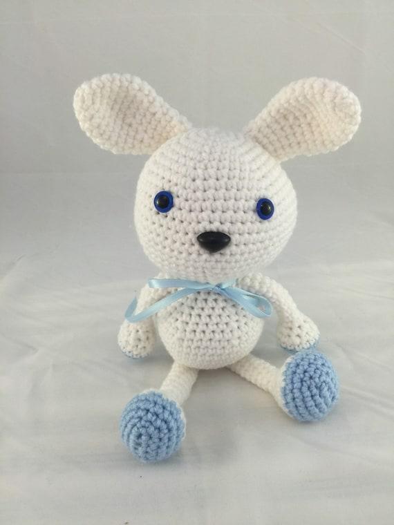 Wasabi the Bunny Crochet Amigurumi Bunny