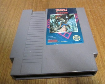 Vintage Nintendo Video Game TROJAN, NES Cartridge. Original Classic NES game cartridge, Retro Gaming. Good Used Vintage Condition.