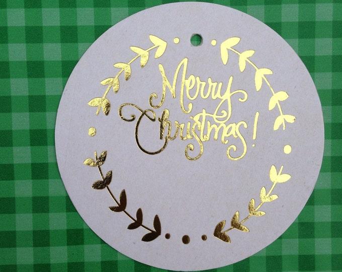 Christmas Gift Tags (Qty 12)