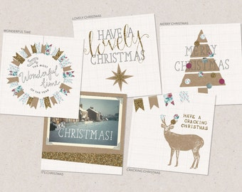Multipack 4 Christmas Cards