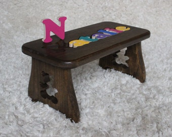 Items Similar To Personalized Step Stool Baby Gift With