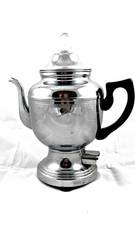 Teapot Coffee Vintage 12 Stainless Infuser Kettle Pot