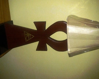 Ankh Lamp with Eye of Horus