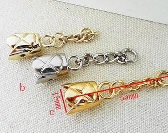 15mm cord cap end stopper Rope stopper belt stopper.8pcs