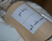 Organic Laundry Powder - Vegan / Citrus / Laundry Soap / Essential Oil / Maine Made / No GMO / No Dyes / HE Friendly / Septic Friendly