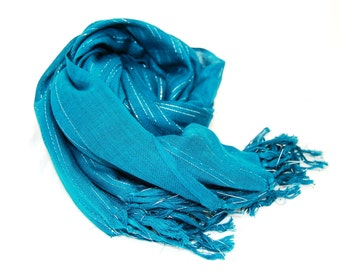 Blue Scarf, Pashmina Scarf, Soft Scarf, Womens Accessories, Shawl Wrap, Long Scarf, Womens Scarves, Fashion Scarves, Oversized Scarf, Gift