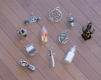 Supernatural Charm Collection - Pick your own