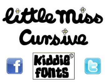 Little Miss Cursive Commercial Font