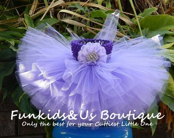 Light Purple Tutu Birthday Tutu skirt- Tutu Baby Tutu Photo Prop, toddler , girl wedding tutu