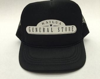 Kailua General Store Vintage Logo Custom Trucker Hat