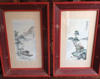 Asian Framed Prints