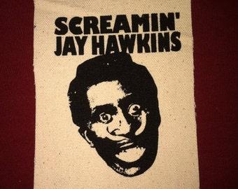 Screamin' Jay Hawkins Cloth Punk Patch