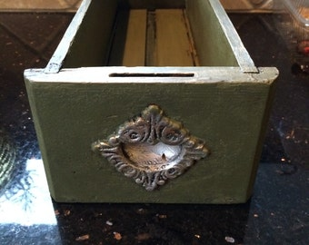 Painted Antique Sewing Drawer